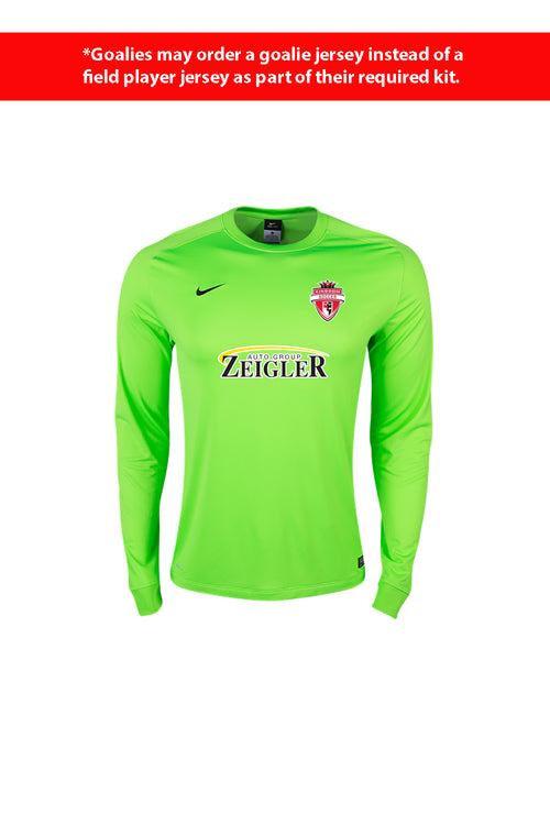 Kingdom Goalie Jersey - Green