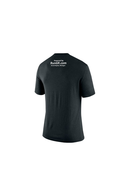RunGR Men's SS Logo Tee - Black