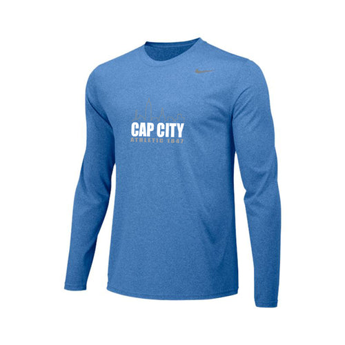 Cap City LS Training Jersey - Light Blue