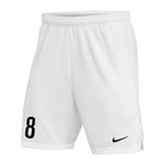Cap City Game Short - White