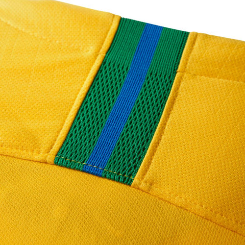 Women's Brasil Home Stadium Jersey - Midwest Gold/Lucky Green