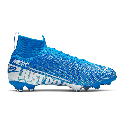 Nike JR Superfly 7 Elite FG Soccer Boots- BLUE HERO/WHITE-OBSIDIAN
