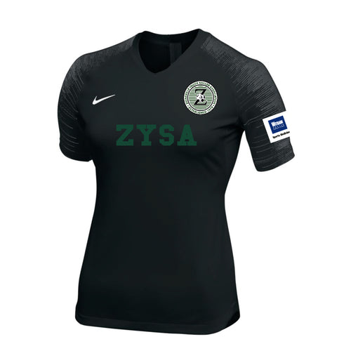 ZYSA Women's Game Jersey - Black