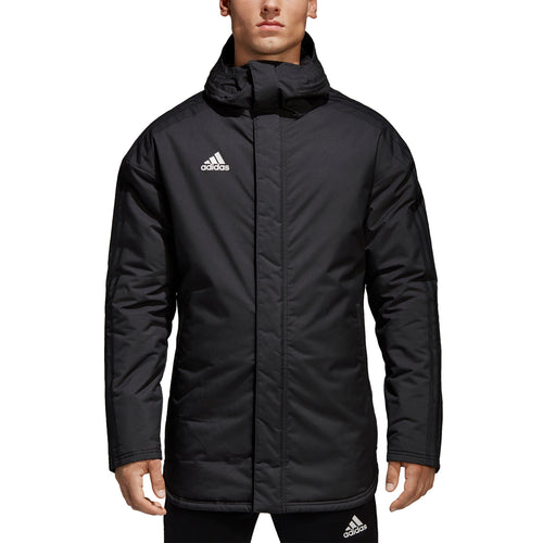 Men's Condivo 18 Stadium Parka - Black