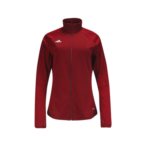 Women's Tiro 17 Training Jacket-Red