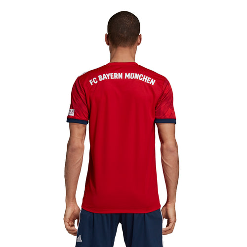 Men's FC Bayern Home Jersey-Red