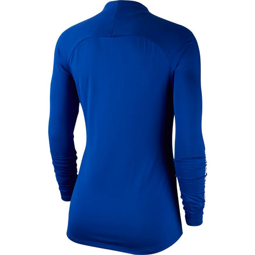 Women's USA Dry Drill Top - Bright Blue/Loyal Blue/White