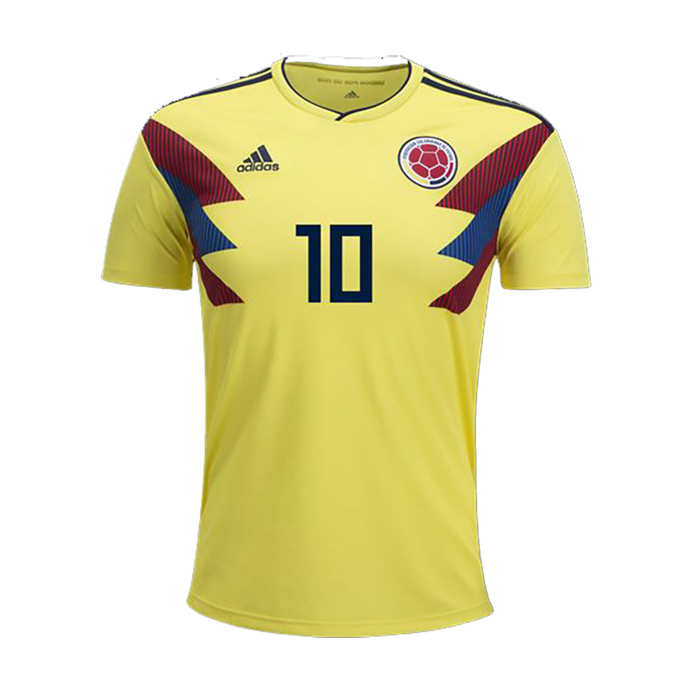 d7f0fb3dd JAMES Colombia Home Jersey - Yellow – Gazelle Sports Soccer