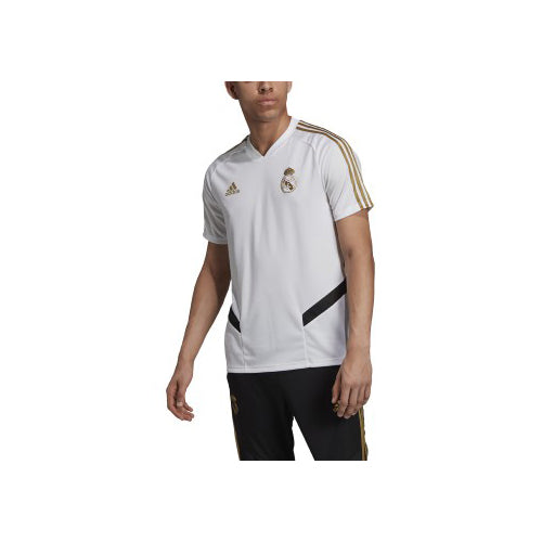 sports shoes 03649 17806 Men's Real Madrid Training Jersey - White/Dark Football Gold