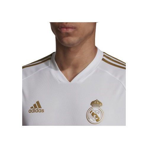 superior quality c3364 888ac Men's Real Madrid Training Jersey - White/Dark Football Gold ...