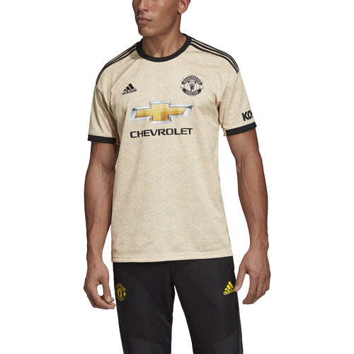 Man U Away Jersey - Gold