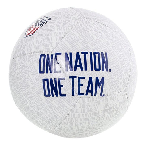 Nike USA Skills Ball - White/Pure Platinum/Gym Red/Blue Void