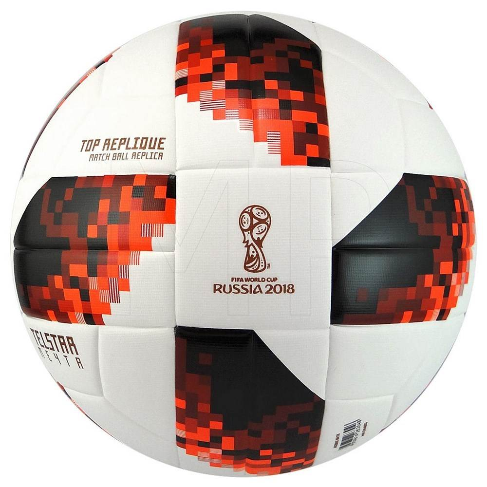 FIFA World Cup Knockout Top Replique Ball WhiteSolar Red