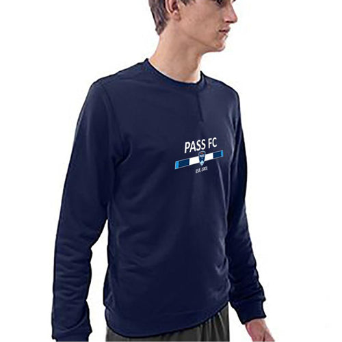 PASS FC Training Pullover- Navy