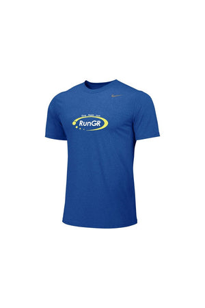 RunGR Men's SS Logo Tee - Royal