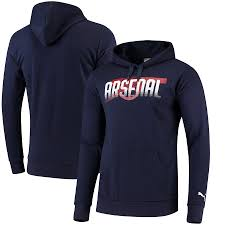 Men's Arsenal FC Cannon Hoody-Navy