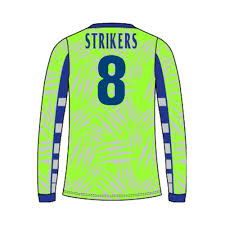 Men's AF Long Sleeve Goalkeeper Jersey-Green/Royal