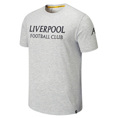 Liverpool 2019/20 Travel Graphic Tee - Grey
