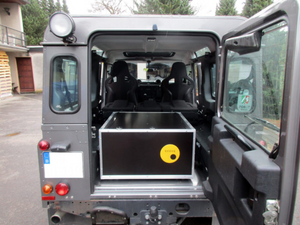 D-Box for the Landrover Defender 110