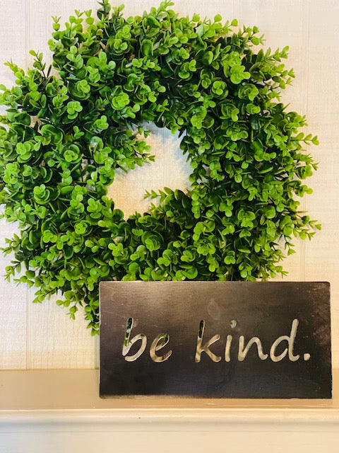 "12"" Be Kind Plaque"