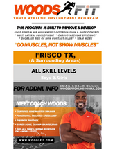 "Athletic Development & Conditioning Program ""FRISCO TX"""