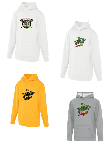 Rage Lacrosse Youth Game Day Fleece Hooded Sweatshirt