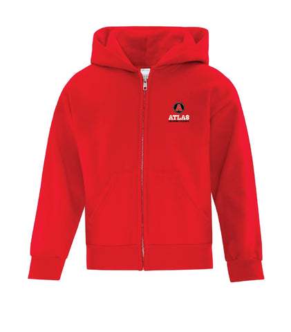 Atlas Learning Academy Youth Full Zip Hoodie
