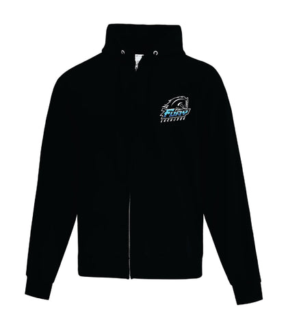 Fury Lacrosse Adult Full Zip Hooded Sweatshirt