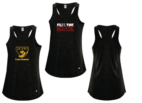 Rage Lacrosse Triblend Racerback Ladies' Tanks