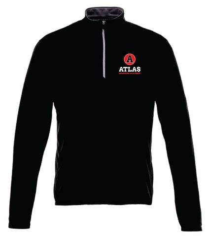 Atlas Learning Academy Men's 1/4 zip pullover