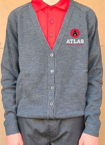 New Atlas Collection Unisex Cardigan Uniform