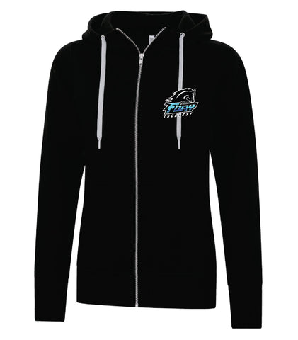 Fury Lacrosse Ladies Full Zip Sweater