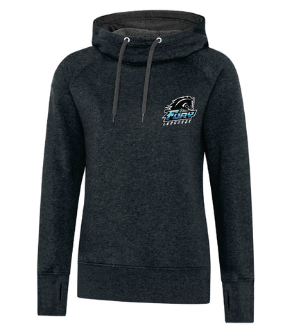 Fury Lacrosse Ladies Vintage Hooded Pullover