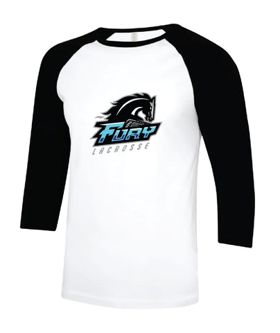 Fury Lacrosse Adult Cotton Baseball Jersey