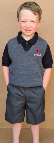 New Atlas Collection Unisex Bermuda Junior Shorts Uniform