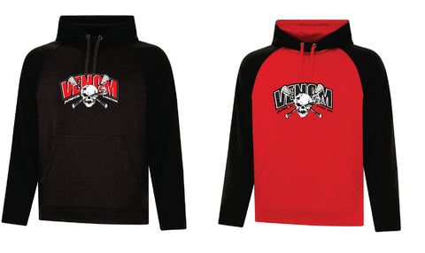 Venom Lacrosse Fleece Two Tone Adult Hoodie