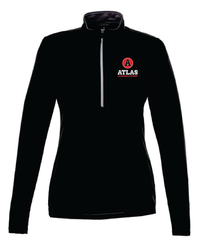Atlas Learning Academy Ladies 1/2 zip pullover