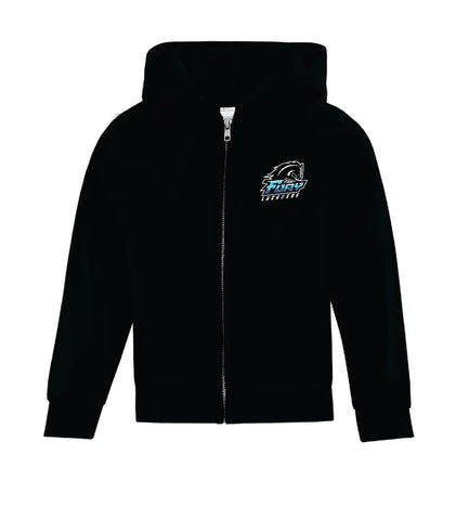 Fury Lacrosse Youth Full Zip Hoodie