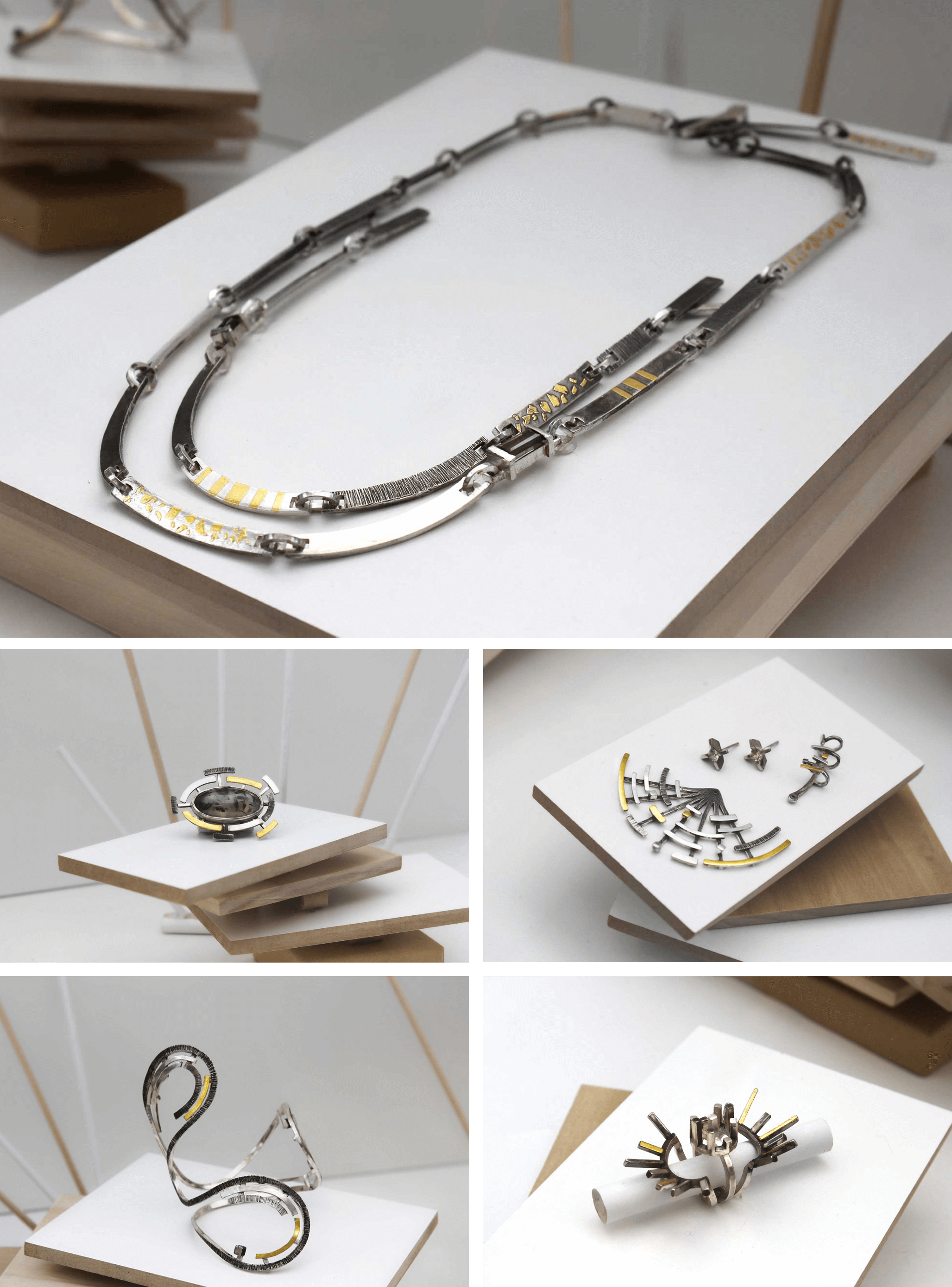 "Francesca Cresciullo: The La Crescita - ""Growth"" - Collection: Contemporary Handmade Jewelry"