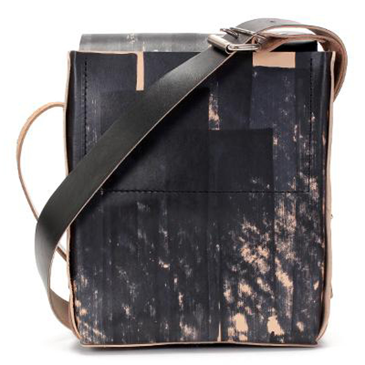 fiveleft leather DAYGOODS - Unisex Handmade Leather Crossbody Bag