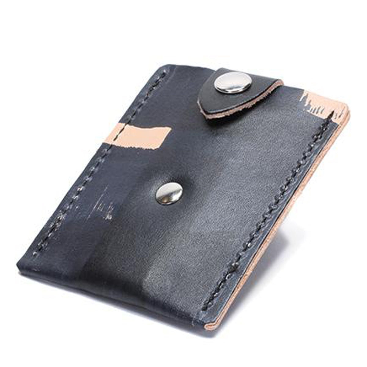 Fiveleft Leather Pop-Up Wallet