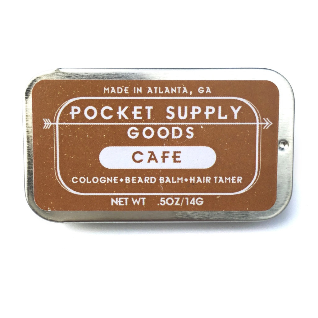 Pocket Supply Goods Cafe - Coconut & Coffee Scented Natural Grooming Balm