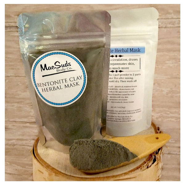 MacSuds Bentonite Herbal Clay Face Mask