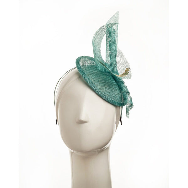 Accessories - Blue Dore Fascinator