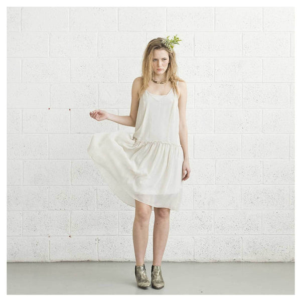 Apparel - Ivory Boho Cocktail Dress