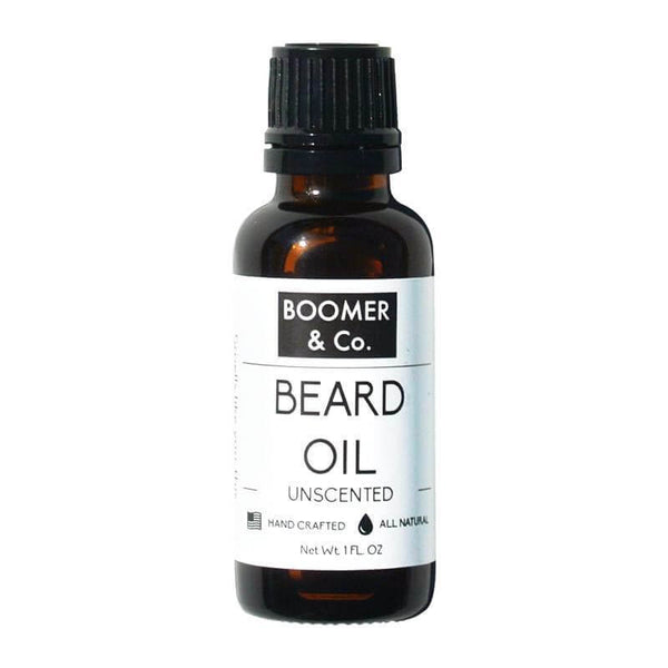 Boomer and Co Unscented Beard Oil