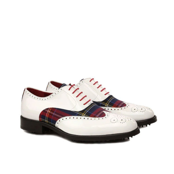 Q by Qs Men's Elite Sartorial Handmade Bespoke Golf Shoes