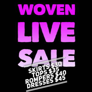 Live sale checkout