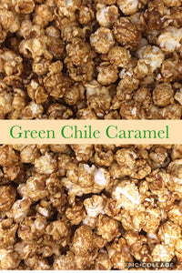 Green Chili Caramel Popcorn 5oz.
