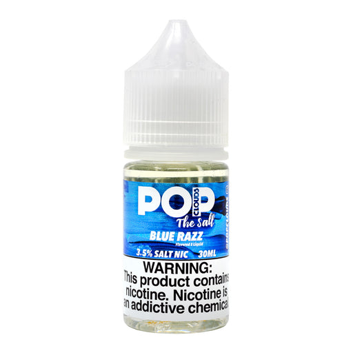 Blue Razz 30ML By Pop Clouds The Salt E-Liquid